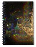 Christmas Ship Spiral Notebook
