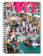 Christmas Shopping Spiral Notebook