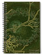 Christmas Songbird Spiral Notebook