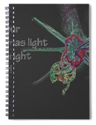 Christmas Star Light 26762 Ge Spiral Notebook