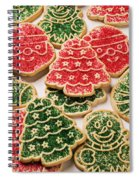 Christmas Sugar Cookies Spiral Notebook