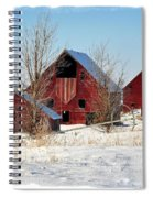Christmas Time In Idaho Falls Spiral Notebook