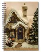 Christmas Toy Village Spiral Notebook