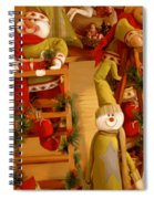 Christmas Toys Spiral Notebook