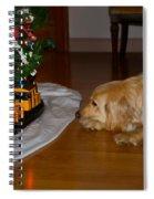 Christmas Train Spiral Notebook