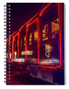 Christmas Train Spiral Notebook