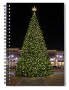 Christmas Tree Hampton City Center  Spiral Notebook