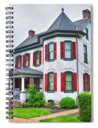 Christmas Tree Haus Spiral Notebook
