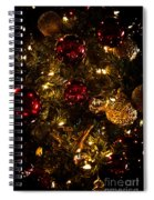 Christmas Tree Ornaments 3 Spiral Notebook
