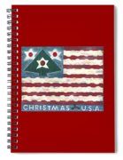 Christmas U.s.a. Spiral Notebook