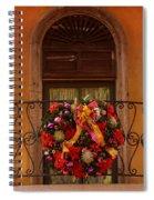 Christmas Window Spiral Notebook