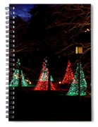 Christmas Wonderland Walk Spiral Notebook