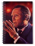 Christopher Walken Painting Spiral Notebook