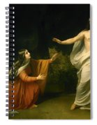 Christs Appearance To Mary Magdalene After The Resurrection Spiral Notebook