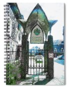 Christ's College Canterbury Spiral Notebook