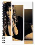 Christy Canyon In Copper Spiral Notebook
