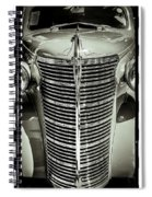 Chrome Grill Spiral Notebook
