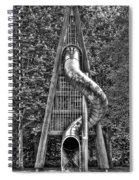 Chromium Slide Spiral Notebook