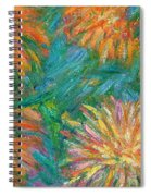 Chrysanthemum Shift Spiral Notebook