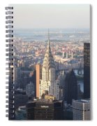 Chrysler Building From The Empire State Building Spiral Notebook
