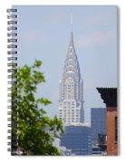 Chrysler Building View Spiral Notebook
