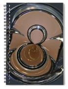 Chrysler Continental Kit Orb Spiral Notebook