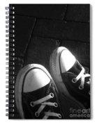 Chuck Taylor's  Spiral Notebook