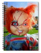 Chuckys Coming Spiral Notebook