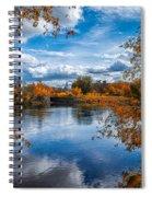Church Across The River Spiral Notebook