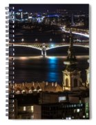 Church And Bridge Spiral Notebook