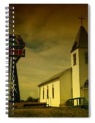 Church And Casino Those Two Angels  Spiral Notebook