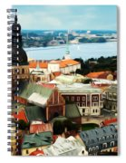 Church And River Spiral Notebook