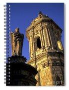 Church Arequipa Peru Spiral Notebook