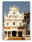 Church At Colva Spiral Notebook