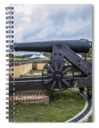Church At Fort Moultrie Spiral Notebook