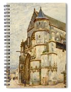 Church At Moret After The Rain Spiral Notebook