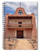 Church At San Ildefonso Spiral Notebook