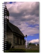 Church At The Okeefe Ranch Spiral Notebook