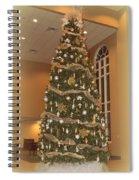 Church Christmas Tree Spiral Notebook