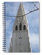 Church Clocktower Spiral Notebook