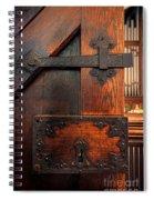 Church Door Spiral Notebook