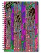 Church Doors Pop Art Spiral Notebook