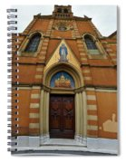 Church Entrance. Palazzolo Spiral Notebook