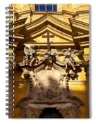 Church Facade Spiral Notebook