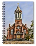 Church In Sprague Washington 2 Spiral Notebook