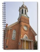Church In Sprague Washington 3 Spiral Notebook