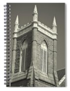 Church In Tacoma Washington Spiral Notebook