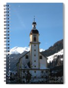 Church In The Austrian Alps Spiral Notebook