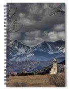 Church In The Hills Spiral Notebook