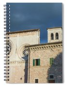 Church Of  Di San Pietro In Assisi Spiral Notebook